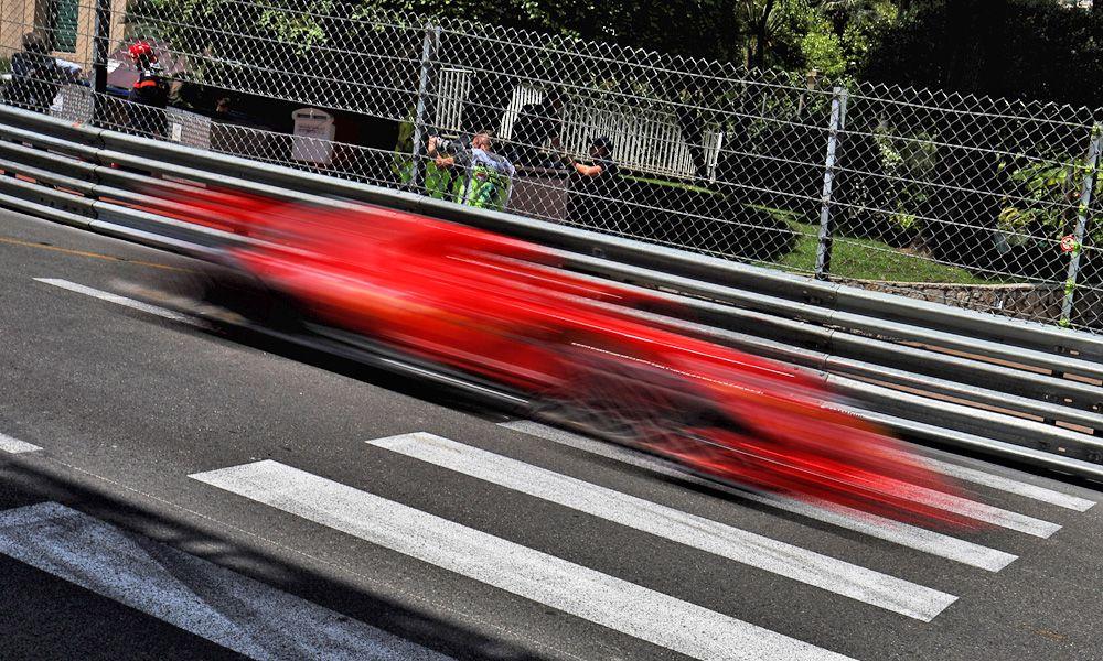 Sebastian Vettel (GER) Ferrari SF71H. 26.05.2018