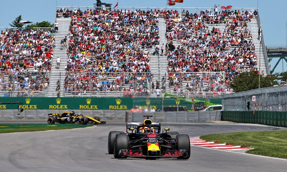 Daniel Ricciardo (AUS) Red Bull Racing 09.06.2018.