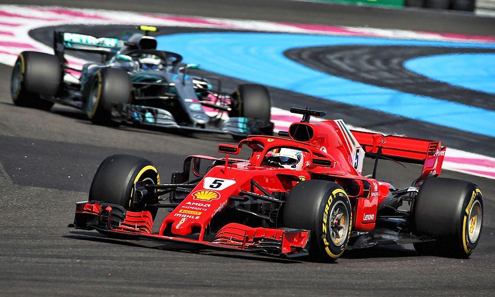 Sebastian Vettel (GER) Ferrari SF71H