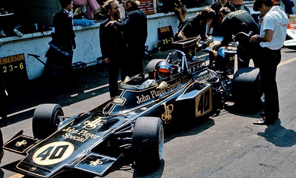 Emerson Fitipaldi - 1972 British Grand Prix