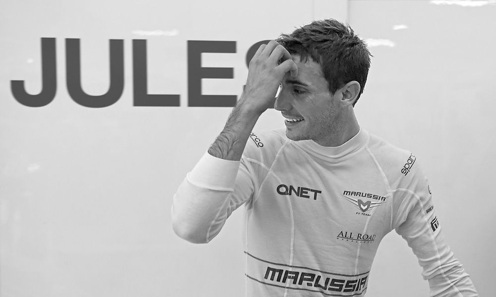 Jules Bianchi (FRA) Marussia F1 Team.