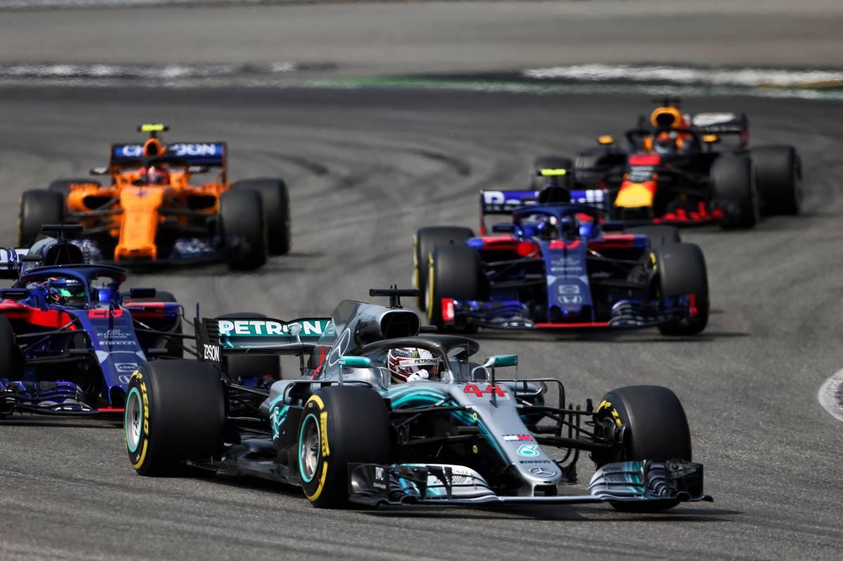 German Grand Prix: Lewis Hamilton (GBR) Mercedes AMG F1 W09.