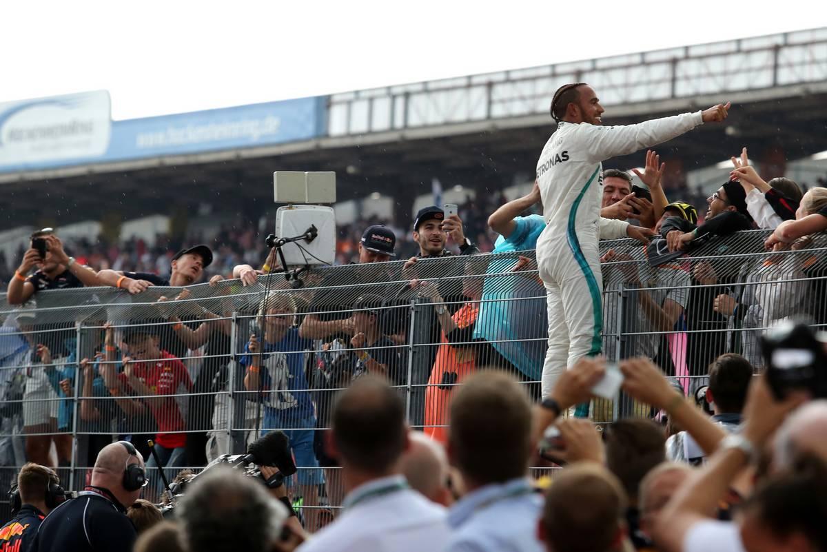 Lewis Hamilton (GBR) Mercedes AMG F1 22.07.2018