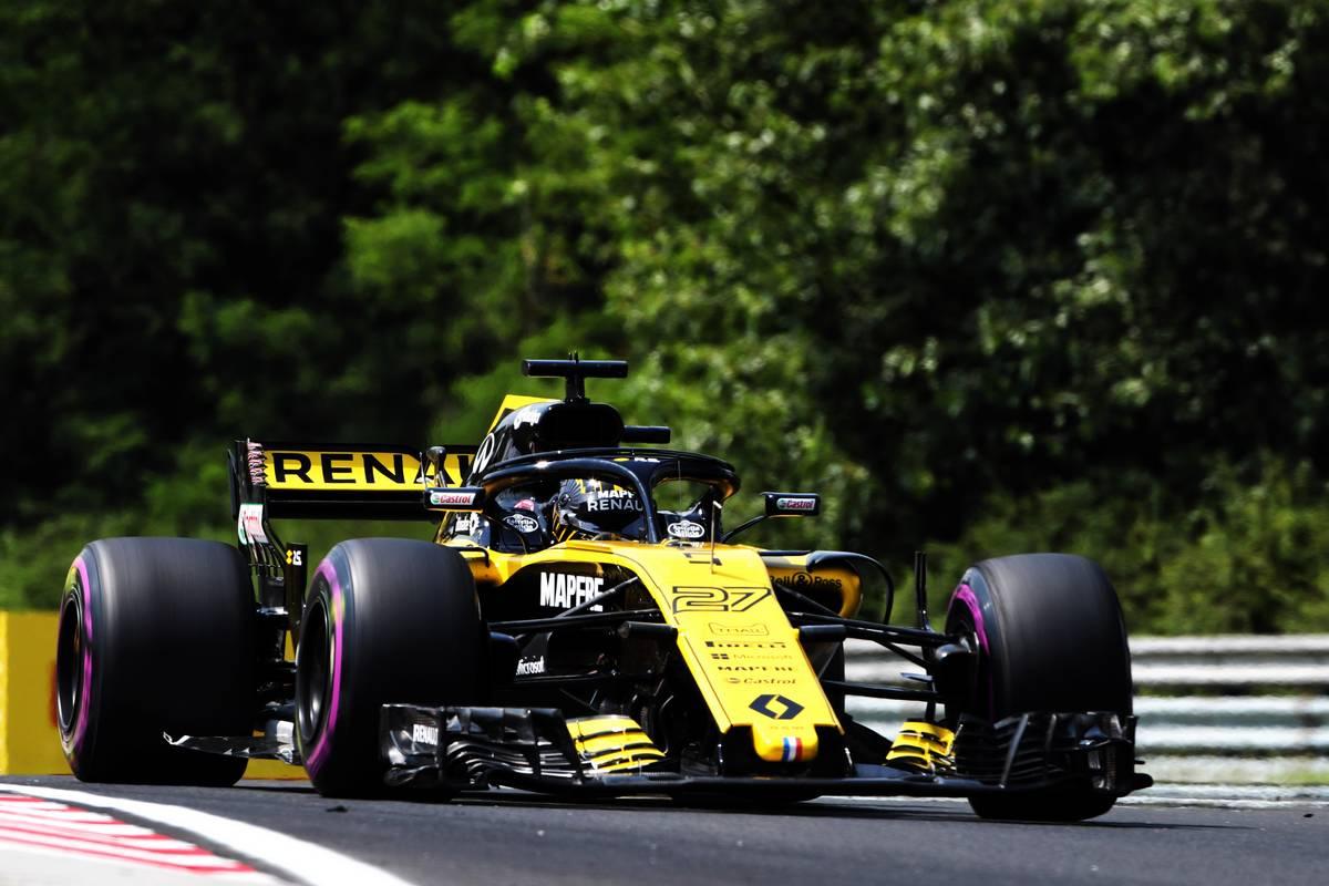 Hungarian Grand Prix: Nico Hulkenberg (GER) Renault Sport F1 Team RS18. 20.07.2018