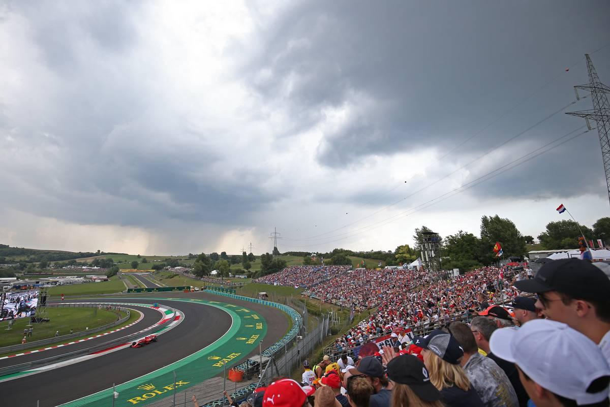 Hungarian Grand Prix: Sebastian Vettel (GER) Scuderia Ferrari