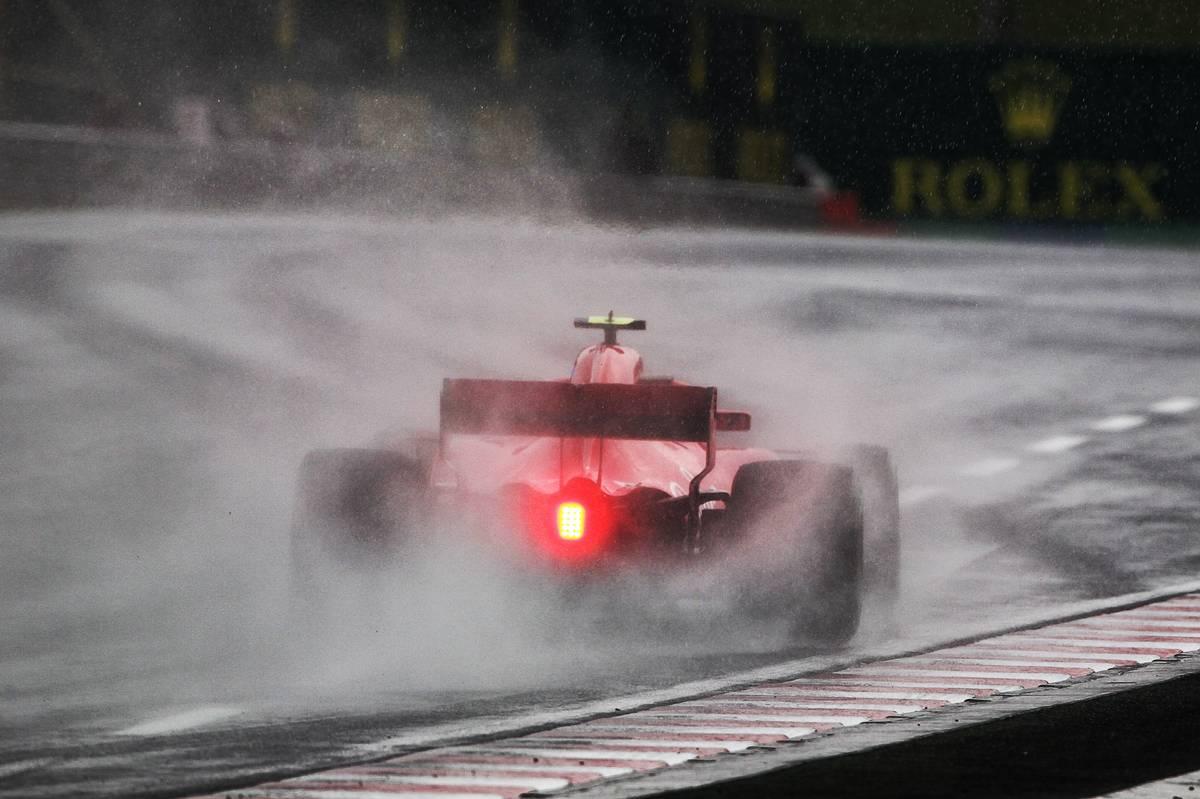 Hungarian Grand Prix: Kimi Raikkonen (FIN) Ferrari SF71H.