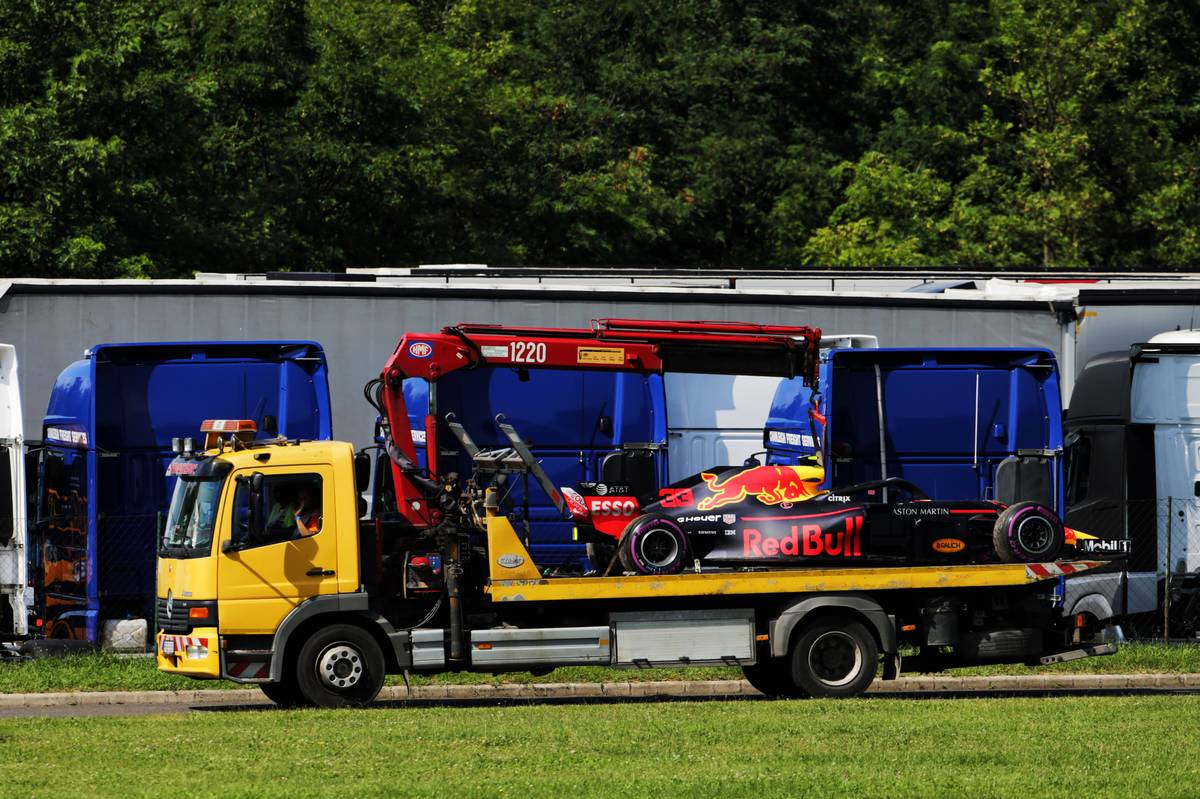 Red Bull's Max Verstappen retires from the Hungarian Grand Prix