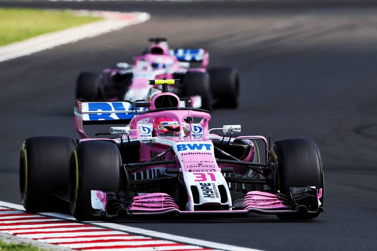 Esteban Ocon (FRA) Sahara Force India F1 VJM11.