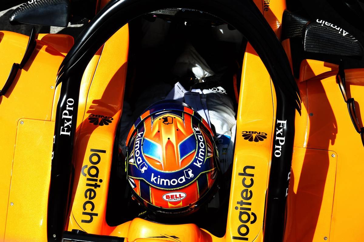 Lando Norris (GBR) McLaren MCL33 Test Driver.
