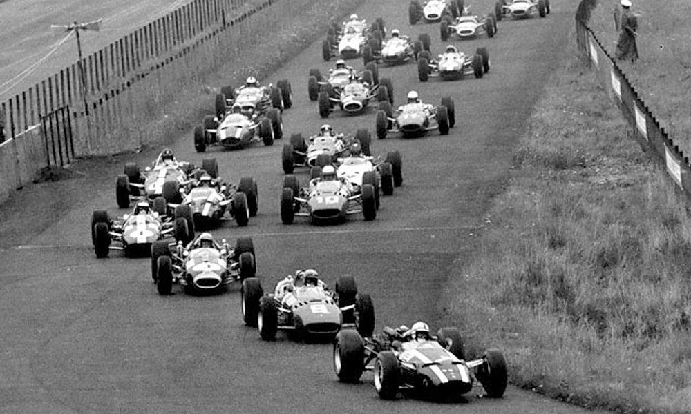 Start of the 1966 German Grand Prix - Nurburgring
