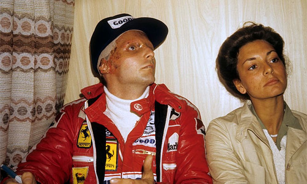 Niki Lauda at the 1976 Italian Grand Prix