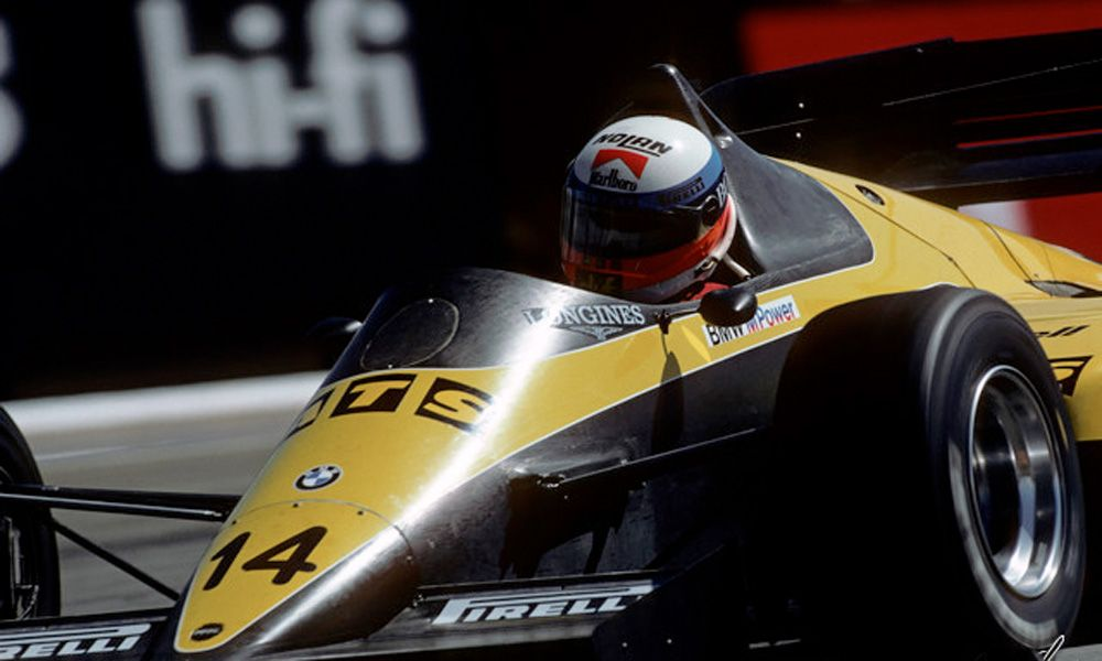 Manfred Winkelhock, Team ATS - 1984 South African Grand Prix
