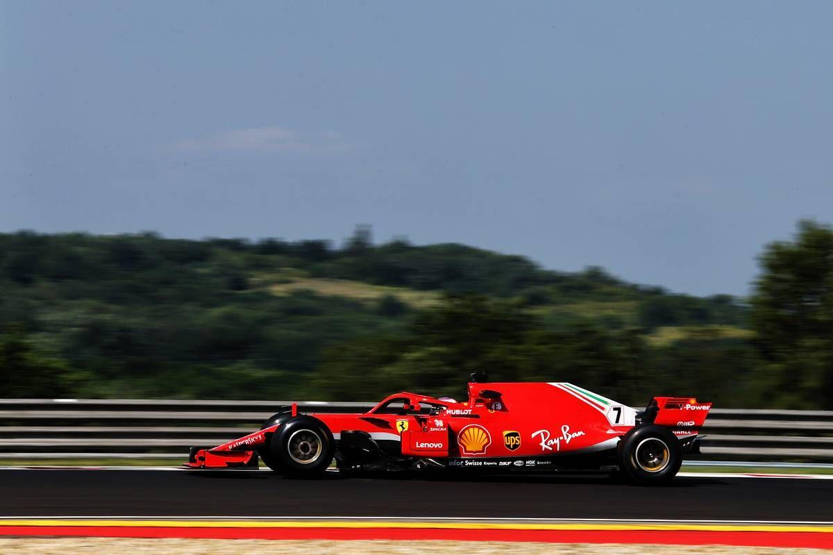 Kimi Raikkonen (FIN) Ferrari SF71H.