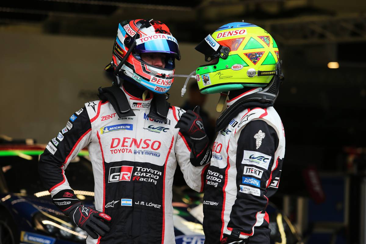 Jose Maria Lopez (ARG)  and Mike Conway (GBR)