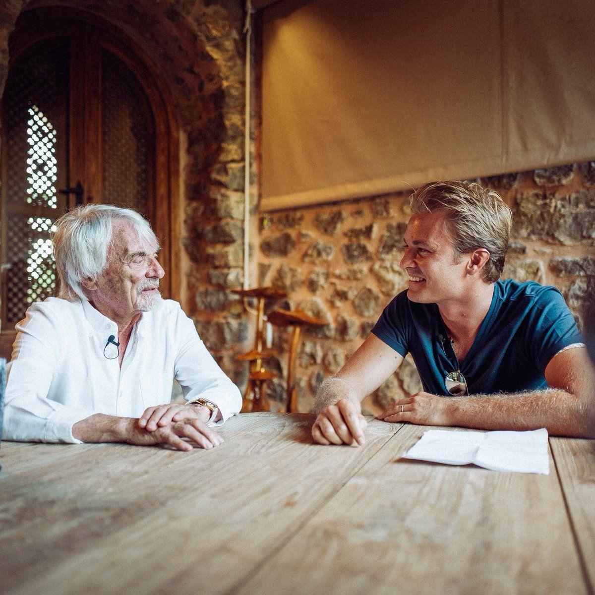 2016 Formula 1 champion interviews former F1 supremo Bernie Ecclestone.